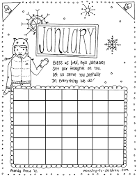 Sheets January Coloring Pages 97 With Additional Seasonal Colouring Free Printable
