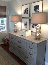 The Houston House Small Master Bedroom Solutions Mercury Glass Lamps And Gray Dresser Oversized