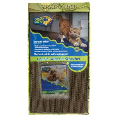 Ourpets Cosmic Catnip Double-Wide Cat Scratcher