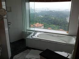 the bathroom with a view picture of le meridien kuala lumpur