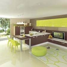 deco cuisine marron deco cuisine marron vert decoration orange verte et newsindo co