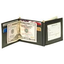 men u0027s royce leather double money clip 197389 wallets at