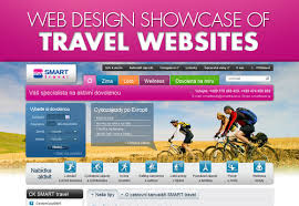 Web Design Showcase Of Travel Websites