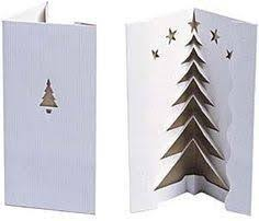 Easy Christmas Tree Pop Up Card Template