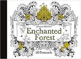 Enchanted Forest 20 Postcards Amazoncouk Johanna Basford Books