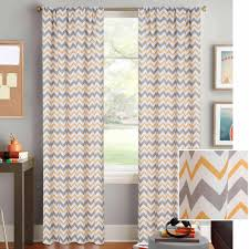Navy Blue Chevron Curtains Walmart by Better Homes And Gardens Chevron Curtain Panel Walmart Com