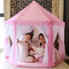 Buy Toyshine Big Princes Castle Tent House For Kids Pink Balls Not