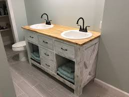 Diy Rustic Bathroom Vanity by Ana White Rustic Bathroom Vanity Diy Projects