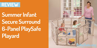 Summer Infant Decorative Extra Tall Gate by Summer Infant Secure Surround 6 Panel Playsafe Playard Review