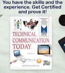 Get Certified With STC Today STCs Recorded Webinars Intercom Magazine And Technical Communication Journal