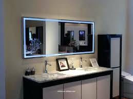 bathroom lighting creative lighted bathroom wall mirror large