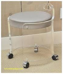 Modern Vanity Chairs For Bathroom by Vanity Chair For Bathroomclear Glass Vanity Stool For Bathroom