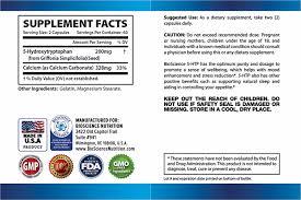 amazon com 5 htp 200 mg supplement 120 capsules bioscience