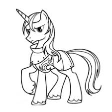 Shining Armor Coloring Page To Print