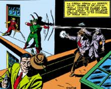 A Panel Of More Fun Comics 73 November 1941 Featuring Green Arrow And Speedys Debut Their Original Costumes Art By George Papp