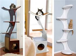 modern cat tower luxury contemporary cat tree contemporary homescontemporary homes