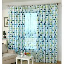Navy Geometric Pattern Curtains by Navy And Green Curtains Curtains Ideas