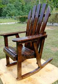 Pallet Rocking Chair Pallets Rock And Pallet Projects