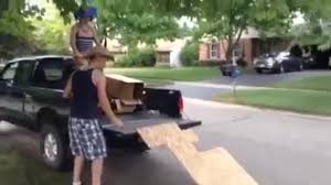 100 Truck Bed Ramp Boy Bikes Off And Faceplants Jukin Media Inc