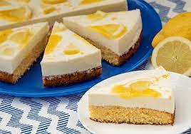 zitronen schmand kuchen mit lemon curd