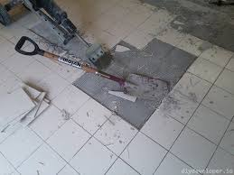 Tile Adhesive Remover Paste by Removing Floor Tiles And Thinset