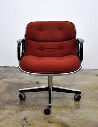 Knoll Pollock Chair Vintage by Select Modern Charles Pollock For Knoll Executive Chair