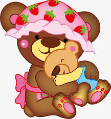 Cute Mama Bear And Baby Vector Png Rh Pngtree Com Clip Art Svg Free Clipart
