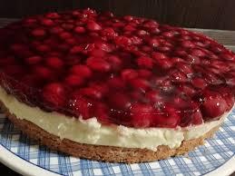 kirsch pudding torte kirschkuchen