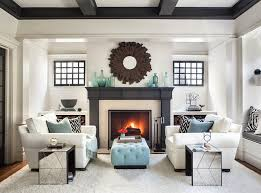 Living Room Fireplace Design Ideas Mirror