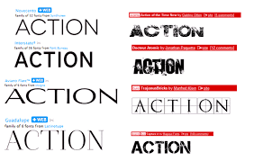 Font Ideas For Film Magazine And Poster