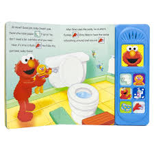 Elmo Potty Seat Cover by Sesame Street Potty Time With Elmo Training Sound Book Toys