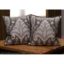 Kravet Design Bansuri Ikat in Slate Lee Jofa Velvet Decorative