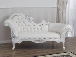 recamiere joana moderner barock stil chaiselongue sofa weiß