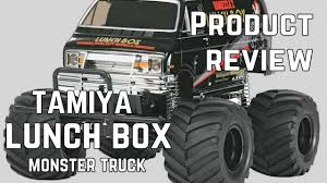 100 Monster Truck Lunch Box Tamiya Black Edition 2WD Kit Review