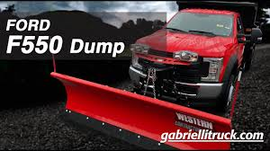 100 Truck With Snow Plow For Sale New D F550 Super Duty Dump