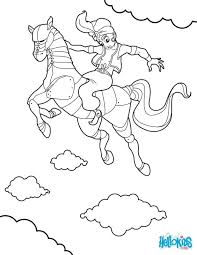 Race Horse Coloring Pages Printable Sheets Barrel Racing Picture The Enchanted Page
