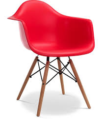 Chaise EiffelL AW Rouge Charles Eames Lot De 4 | Charles-Ray Eames ... Charles And Ray Eames Chair Vitra Plastic Armchair Daw With Full Upholstery Side Dsw By 1950 Style Dowel And Chairs 115 For Sale At 1stdibs Lounge Ottoman Herman Miller Eiffel Inspired Ding Retro Design Dsr Viaduct