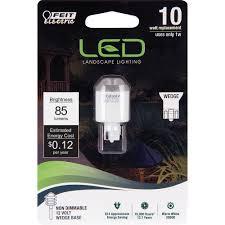 led miniature bulb 3 watt 10w equiv 12v 100 lumens feit