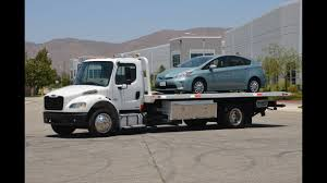 100 Tow Truck Flatbed 2012 Freightliner Rollback Demonstration Drive