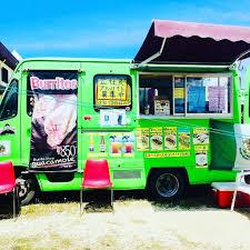 100 Green Food Truck The Guacamole Burrito Okinawa HappyCow