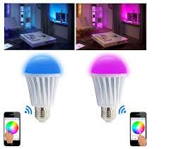 smart lighting rgb mi light new wifi led bulbs color change with