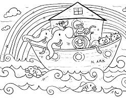 Childrens Bible Coloring Pages Printable Christian Christmas Children Church School To Print Full Size