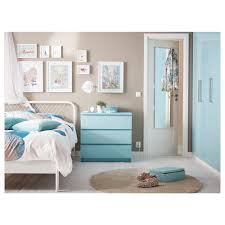 Ikea Nyvoll Dresser Discontinued by Nightstand Splendid Malm Chest Of Drawers Light Turquoise Ikea