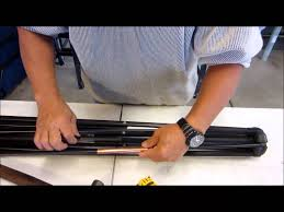 Mosquito Netting For Patio Umbrella Black by How To Repair A Patio Umbrella Rib Youtube
