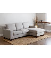 Kenton Fabric Sectional Sofa 2 Piece Chaise by Sectionals