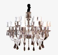Simple European Crystal Chandelier A Retro PNG Image And