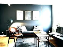 Grey Accent Wall Dining Room Walls Living Dark