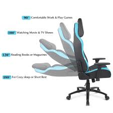 Blue IKayaa Ergonomic Racing Gaming Office Computer Desk Executive Chair -  LovDock.com Luxury Pu Leather Executive Swivel Computer Chair Office Desk With Latch Recline Mechanism Brown Eliza Tinsley Black Belleze Highback Ergonomic Padded Arms Mocha Barton Economy Hydraulic Lift Senarai Harga Style Lifted Household Multi Heavy Duty Task Big And Tall Details About Rolling High Back Essentials Officecomputer Belleze Tilt Lumber Support Faux For Look Costway