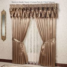 Lace Priscilla Curtains With Attached Valance by Elegant Curtains Touch Of Class