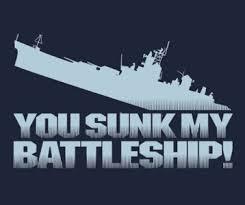 You Sunk My Battleship T Shirt